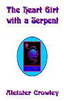 Livro do Coração Cingido com o poema Serpent